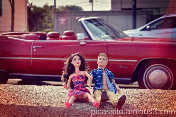 Barbie and Ken's Convertible