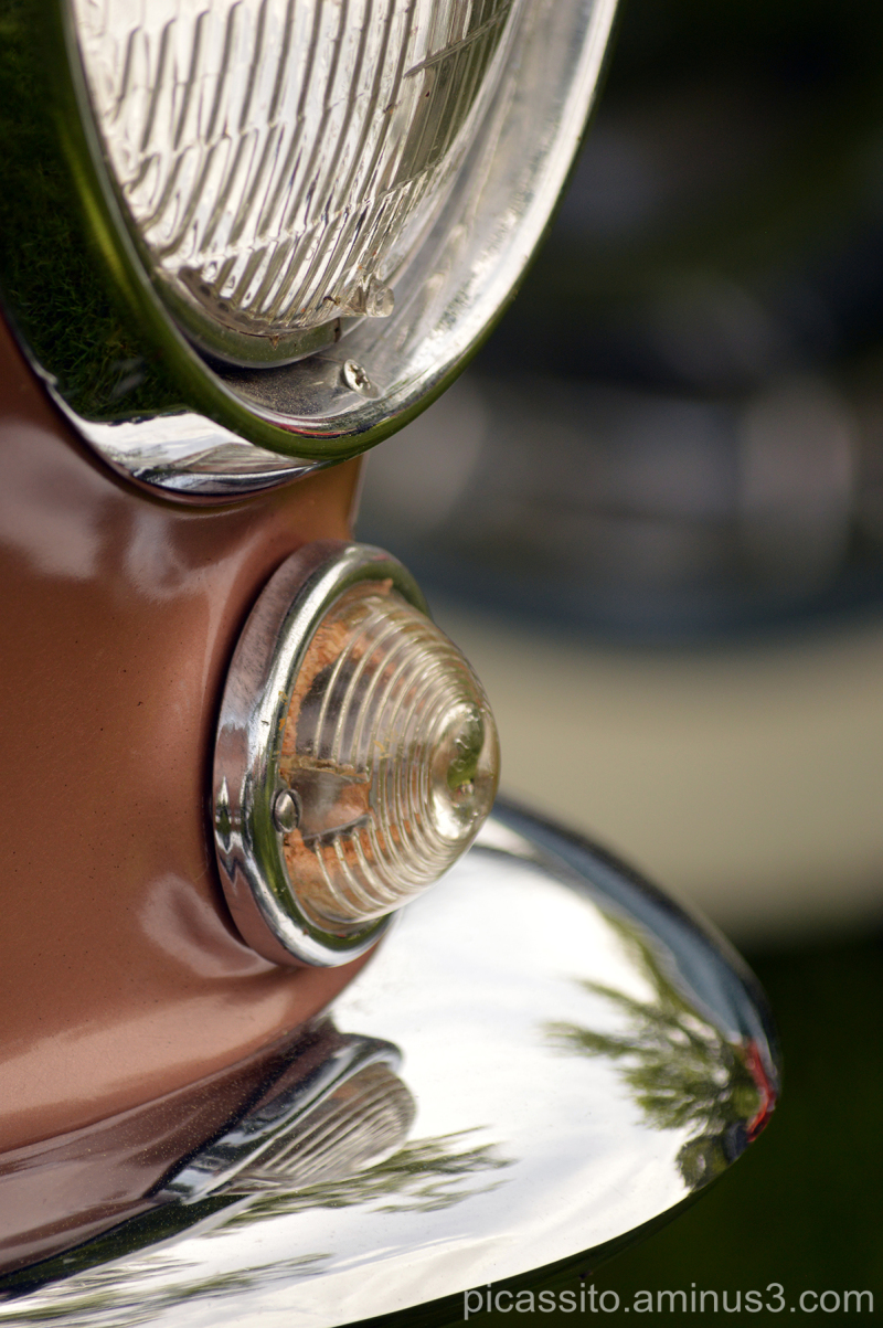 Tan Headlight