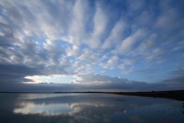 blue bay baie de Somme bleu