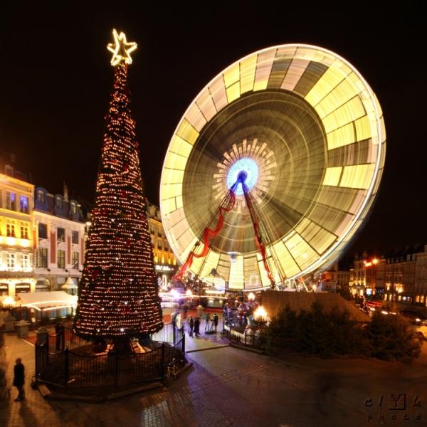 clYk Christmas night Noël nuit