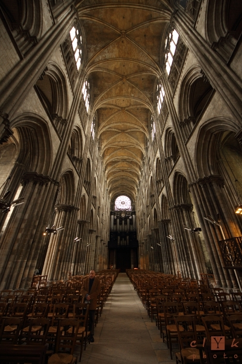 clYk architecture cathedral cathédrale Rouen