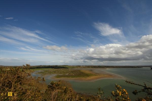 clyk landscape Viking camp Britany Bretagne