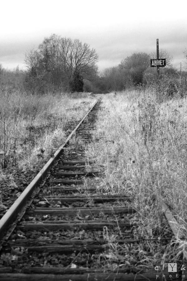 clYk old railway ancienne voie ferrée