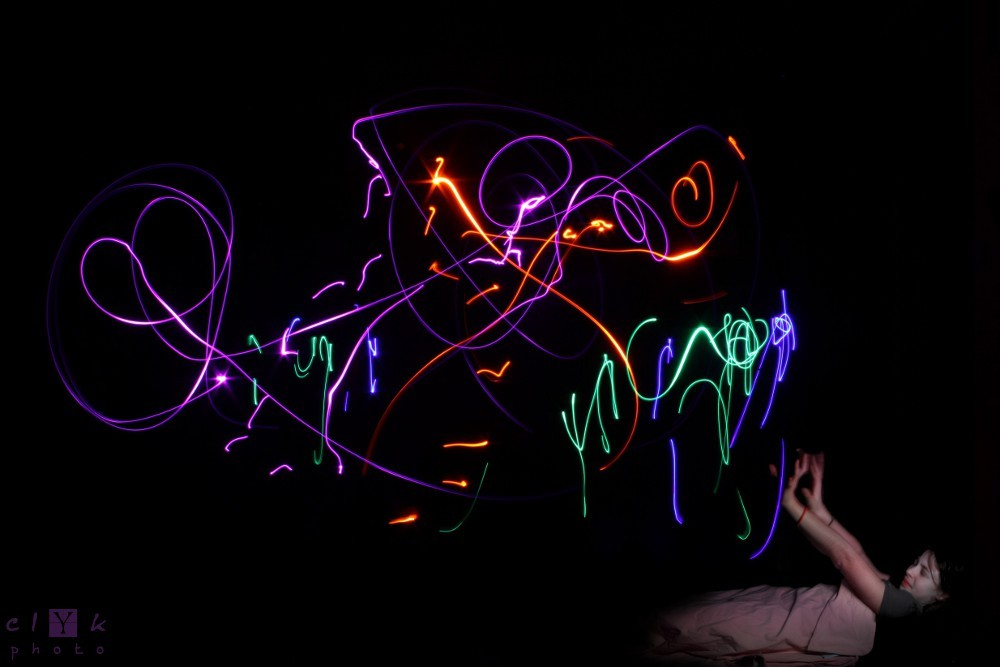 clYk lightpainting nightmare cauchemard