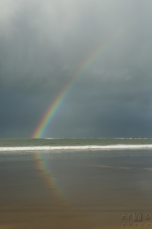 clYk beach britany rainbow plage bretagne arc en c