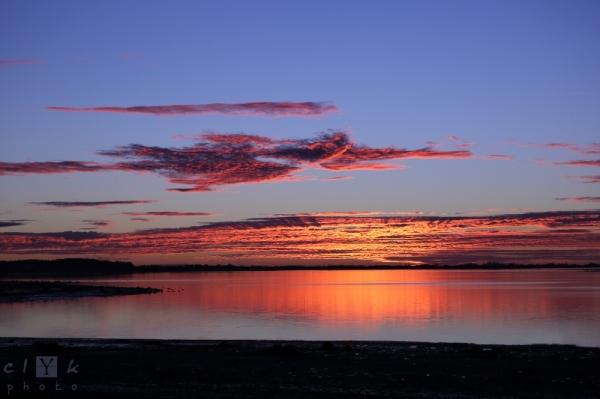 clYk landscape sunset coucher de soleil paysage