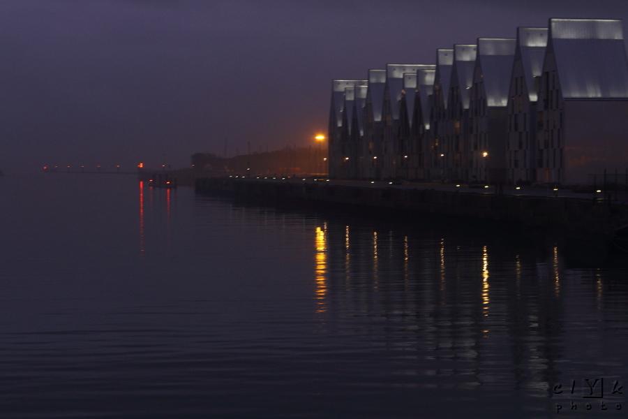 clyk night dock nuit quai Dunkerque