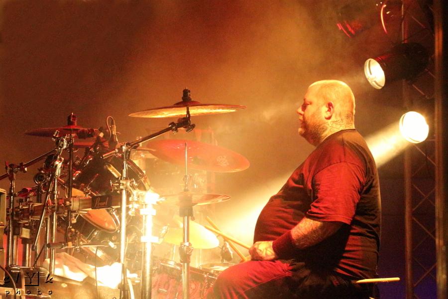 clyk portrait music drummer musique batteur death