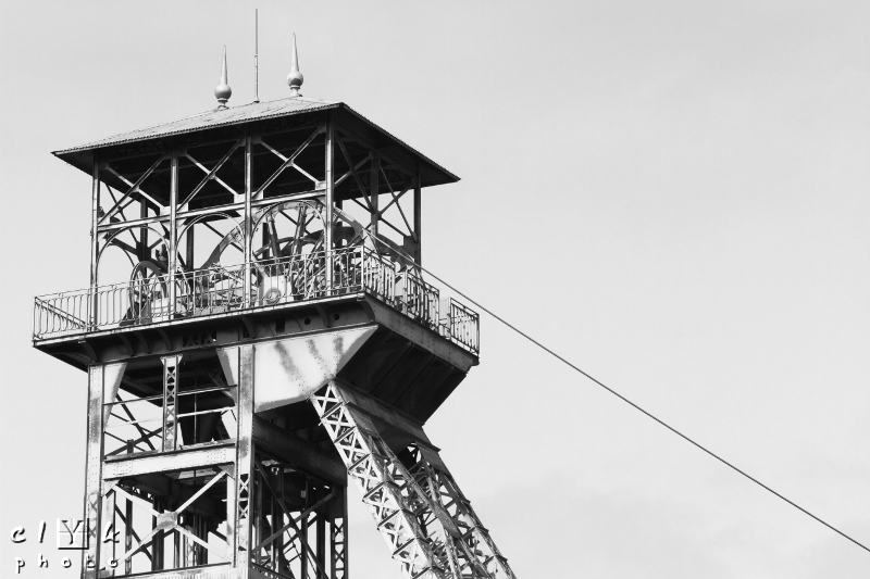 clyk industry coal mine pit industrie charbon