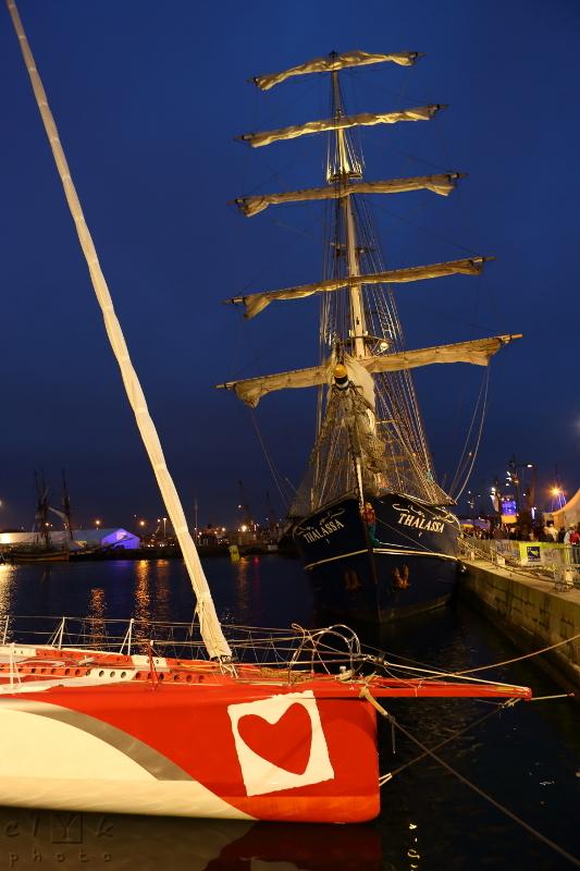clyk ship race route rhum heart coeur