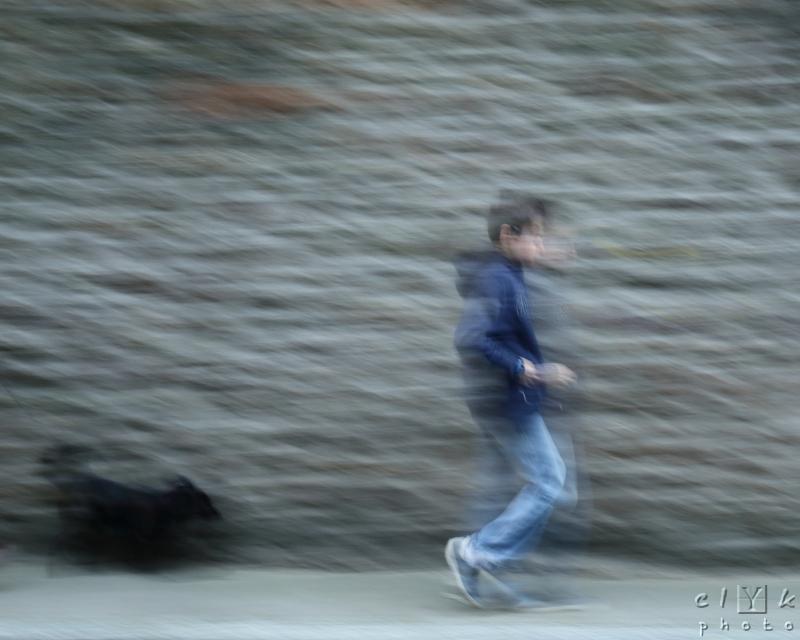 clYk pokemon eevee evoli street rue blurred flou