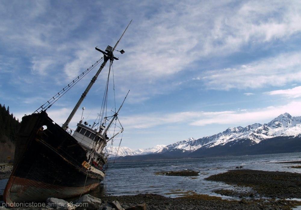 Resurrection Bay, Alaska on Kenia Peninsula