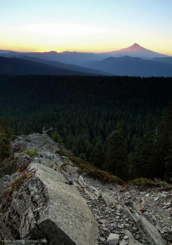 Larch Mountain Sunrise, Oregon