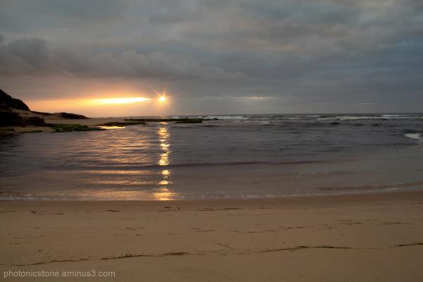 Beach Mosselbaai Cape South Africa