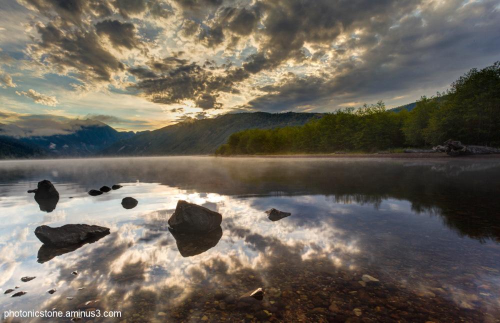 Cold Water Lake, Mount St. Helens, Washington