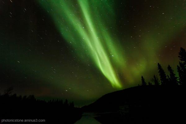Aurora Borealis, North of Fairbanks, Alaska