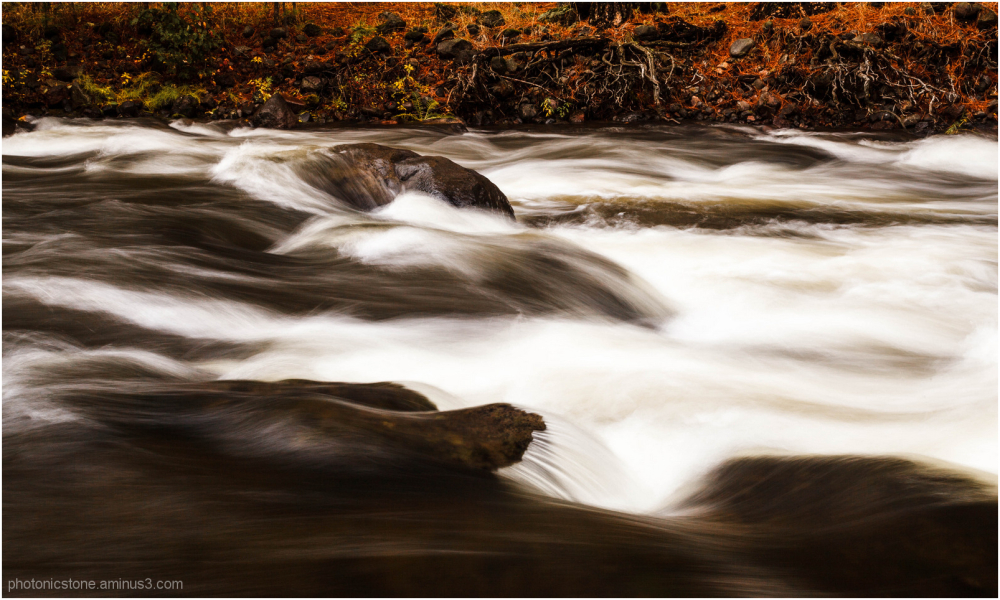 White Salmon River in Autumn #2
