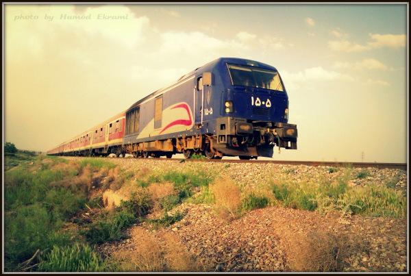 train . Iran. Shahroud