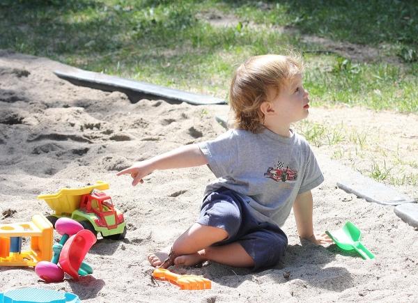 sandbox child