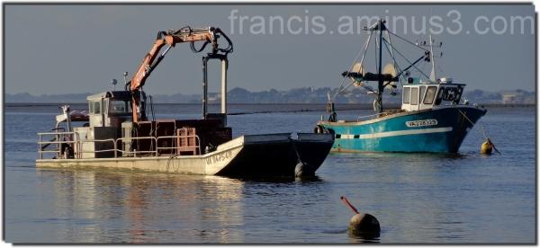Des bateaux au repos !!!