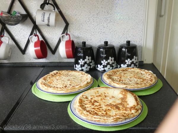 Pat's Pancakes.....