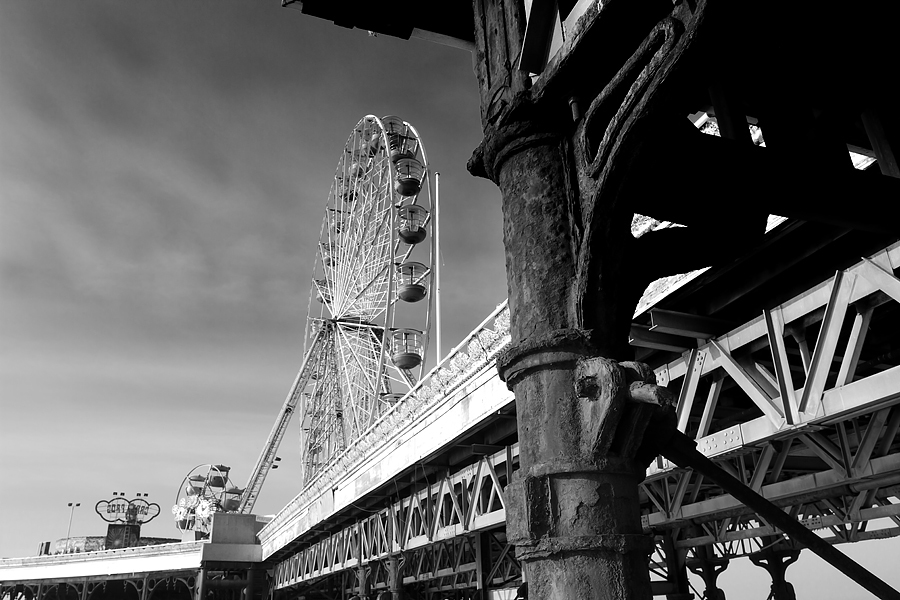 The Central Pier in Blackpool