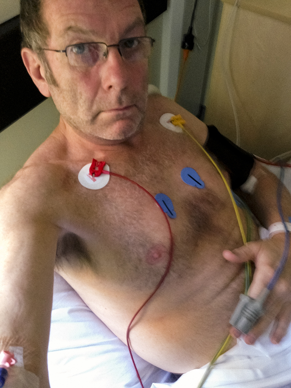 Heart Attack, 24hrs later in Coronary Care Unit