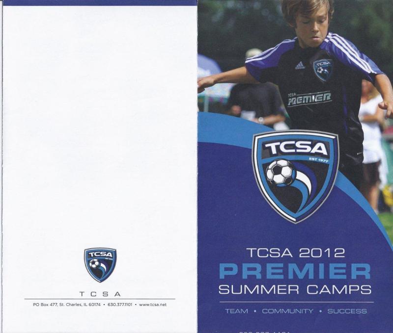 Tri Cities Soccer Assc. Brochure, St Charles