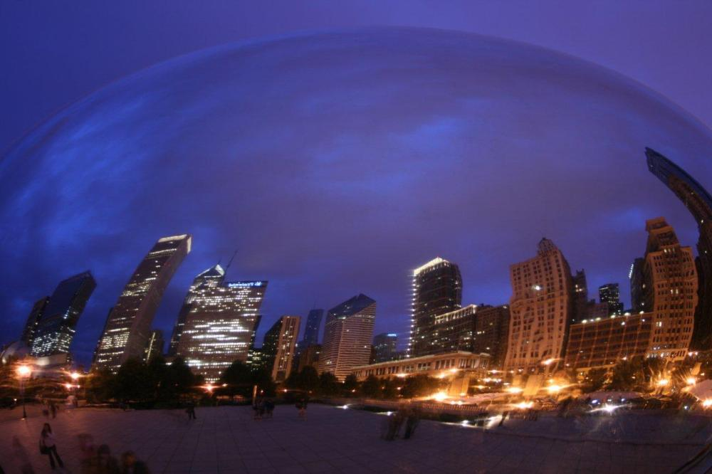 "Cloud Gate (""The Bean""), Chicago, Illinois"