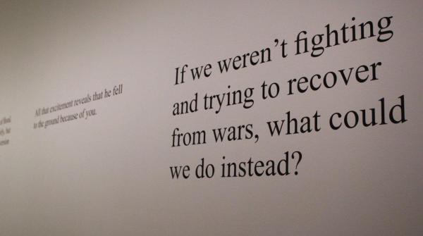 Veteran's Book Project, Milwaukee Art Museum