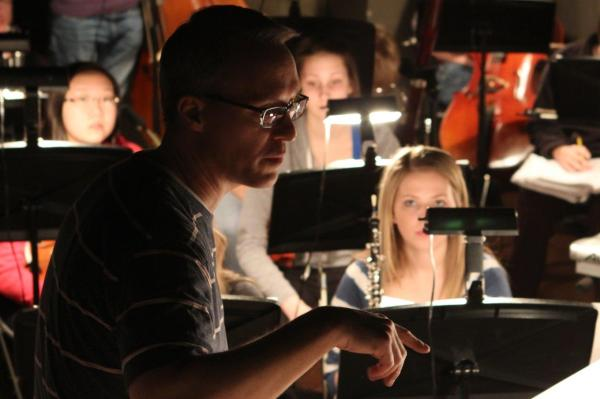 Orchestra Pit, Geneva High School Musical