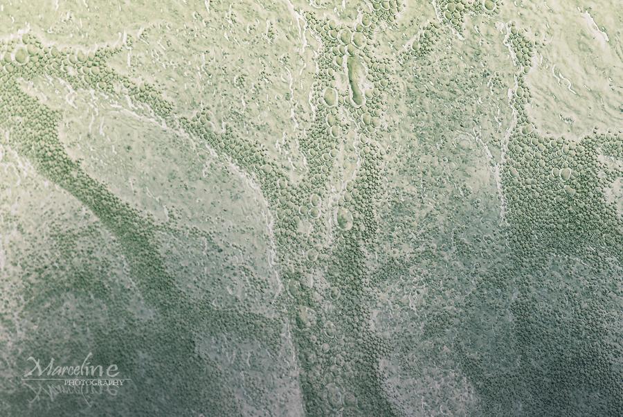 bulle d'eau abstraite