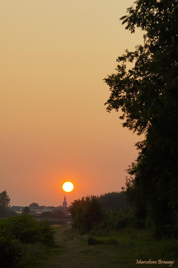 crépuscule sur Tournai