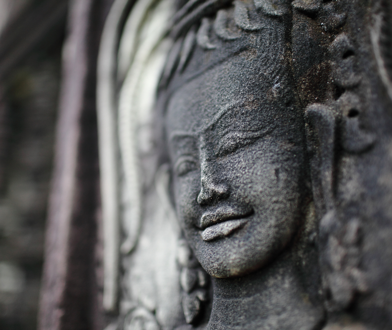 A smile in Angkor