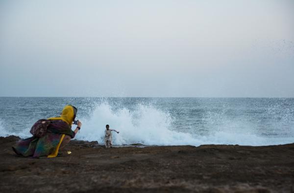 موج افشان