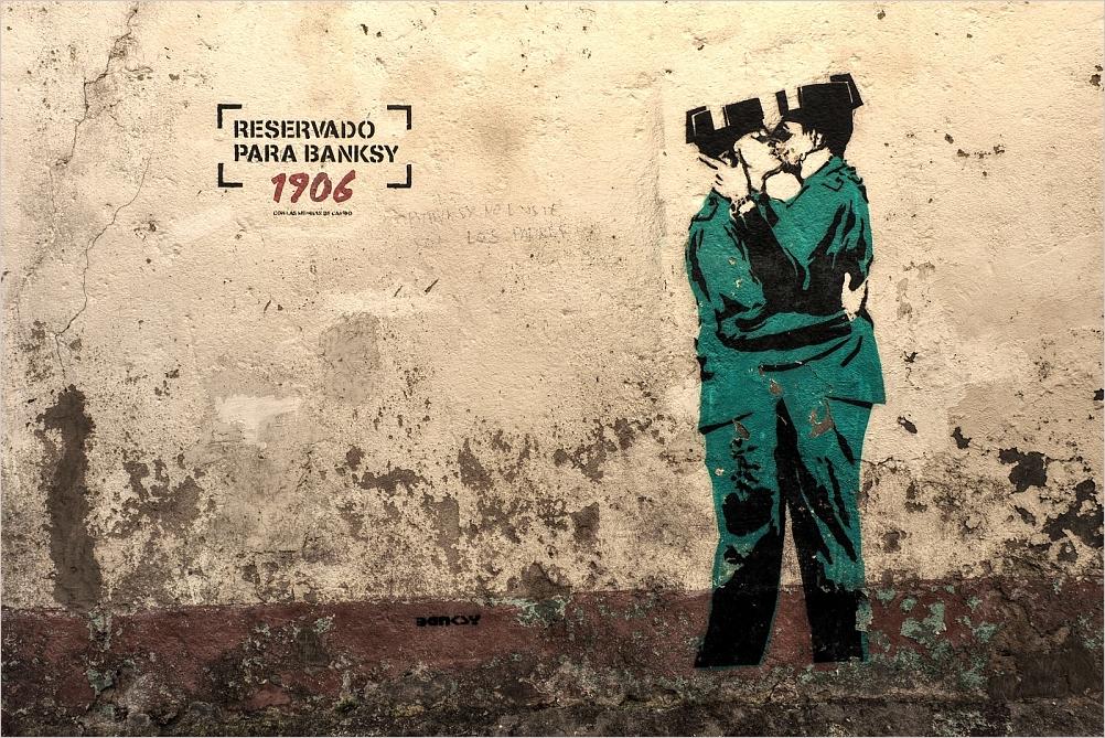 Reservado para Banksy