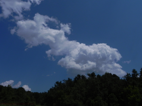 More odd cloud formations