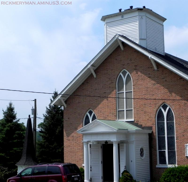1 church, hold the steeple