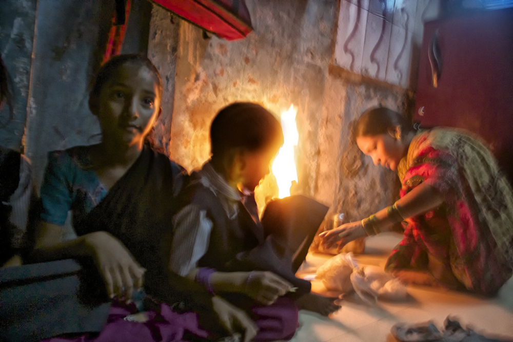 Inner Family Light in  Dharavi