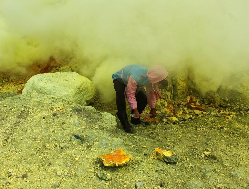 Digging in the devils garden for sulphur