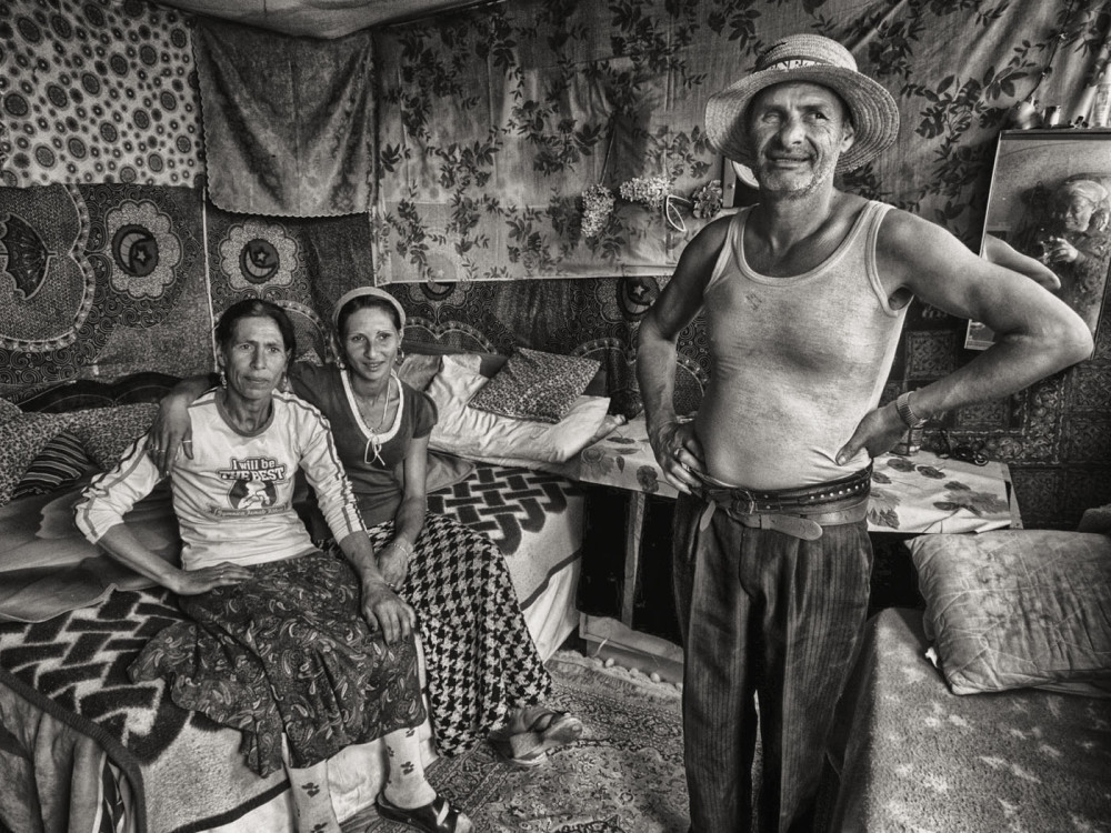 A Gypsy Family at Home