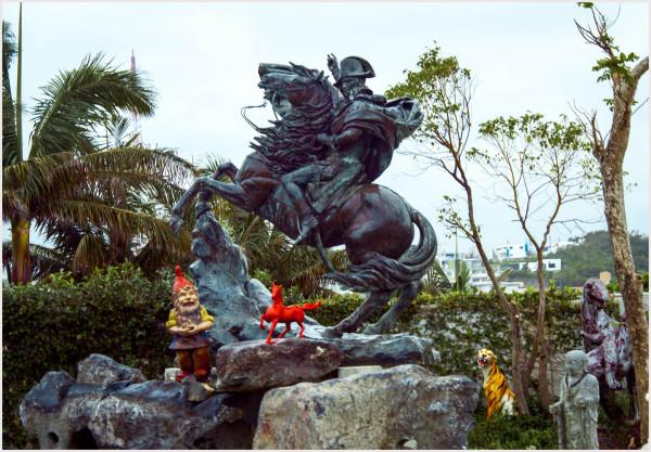 Napoleon Monument - Okinawa