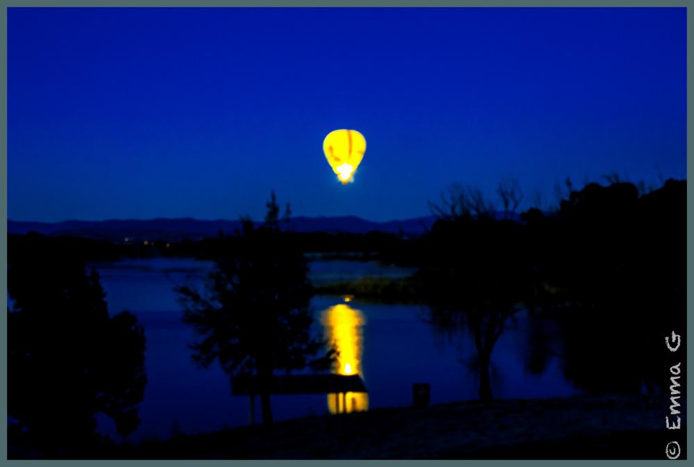 Sunrise at Lake Burley Griffin