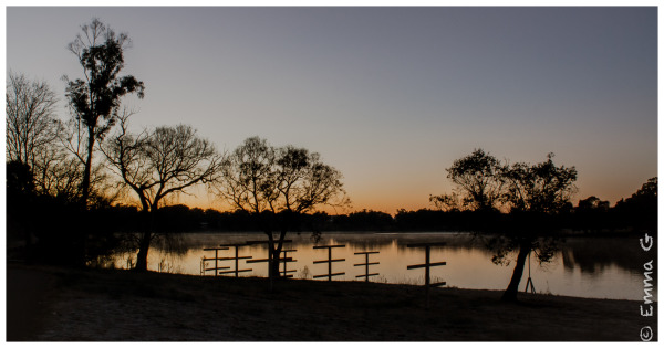 Winter Sunrise - Lake Burley Griffin