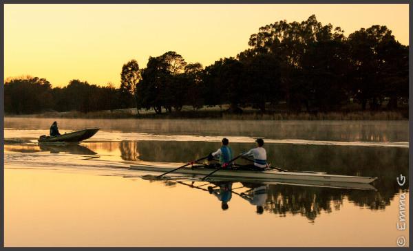 Winter Sunrise - Lake Burley Griffin