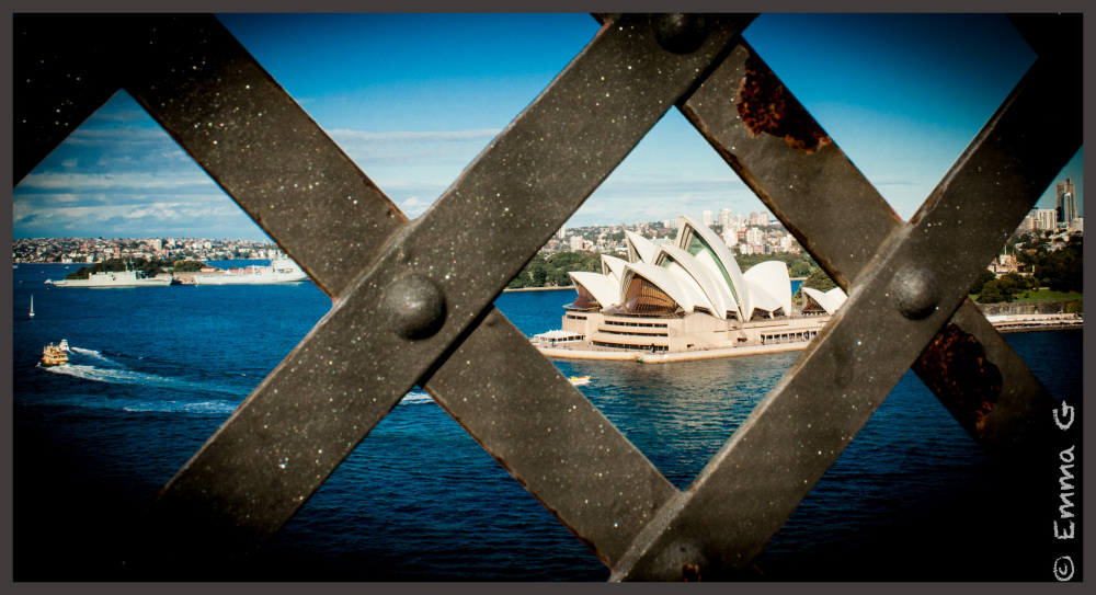 A Harbour Bridge View of the Opera House