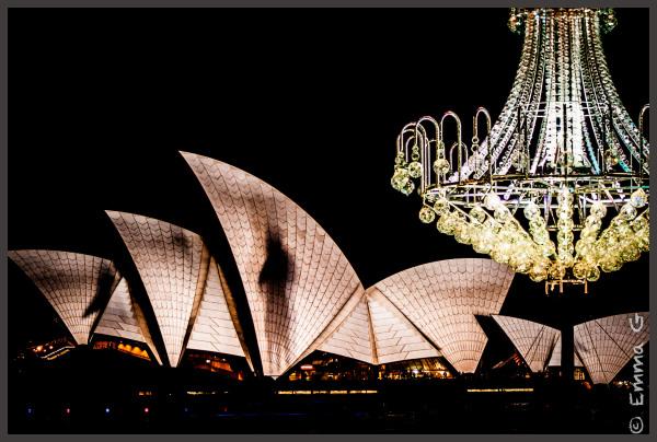 Vivid 2012 - Sydney Opera House