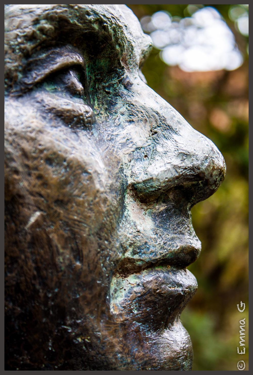 Statue at Canberra's Botanical Garden