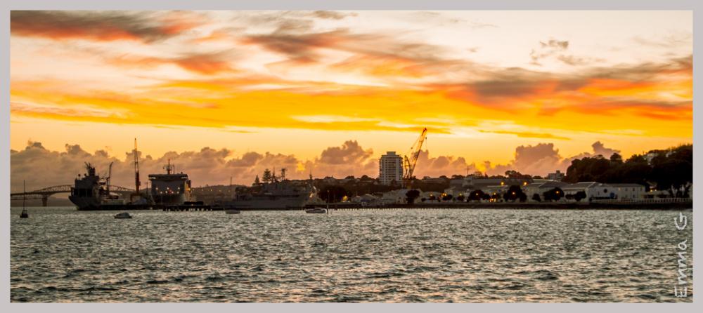 Sunset Devonport