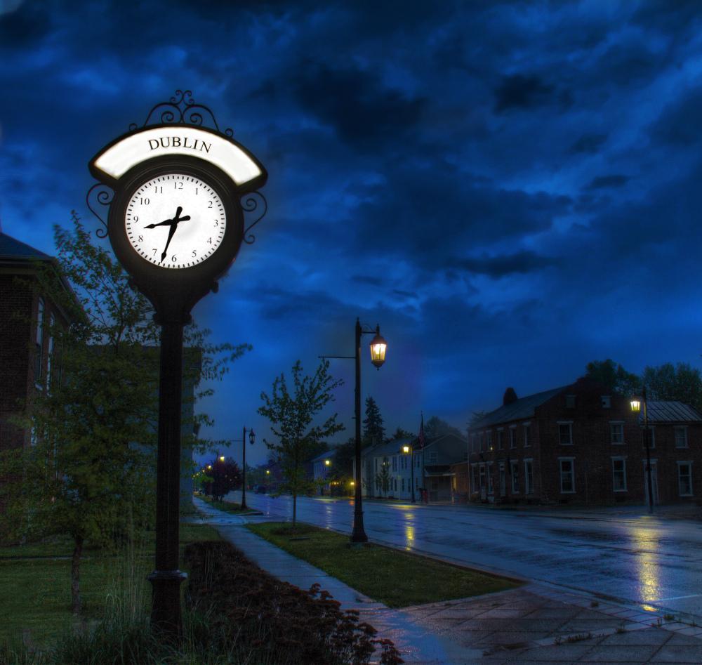Town Clock..